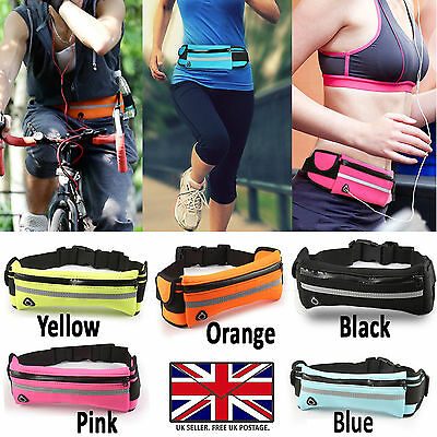 Bum Bag Fanny Pack Travel Sports Running Cycling Fitness Festival Money Pouch