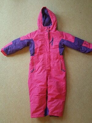 BNWT Girls pink and purple ski suit from Milletts age 5-6