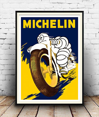 Michelin : Vintage Advertising  Poster reproduction
