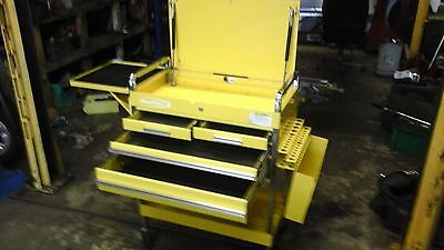 blue point/ snap on tool trolley box