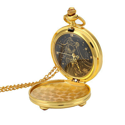 Classic Anime Sailor Moon Moon Prism Sweater Chain Necklace Pendant Pocket Watch