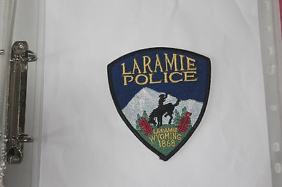 A Shoulder Patch from Laramie Police Department Wyoming