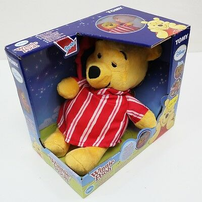 Winnie The Pooh Cuddle n Glow Baby Musical Soft Baby Toy Lullaby Night Light