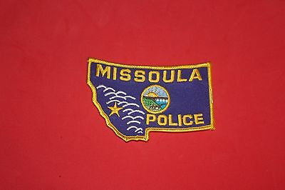 A Shoulder Patch from Missoula Police Department Montana