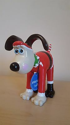 "Brand New In Box - Gromit Unleashed ""Santa Paws"" Figurine"