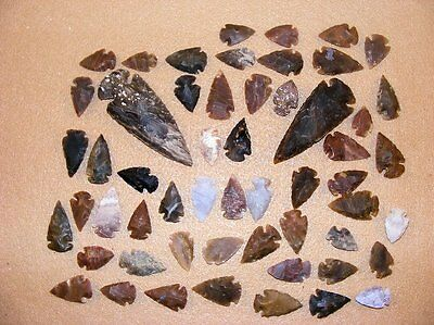 50+ Arrowhead collection Part of Huge Texas Estate stone flint bs-art 2-1900