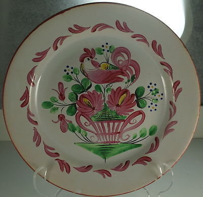 St. CLèment Luneville French Faience Rooster Coq Chantecler Plates Set/5