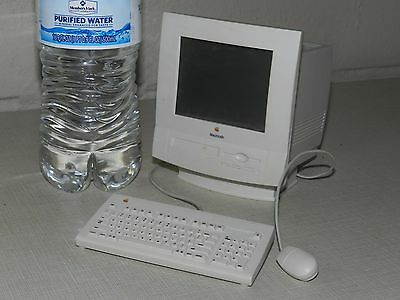 Vtg Adv Mini Apple Macintosh Computer Keyboard Mouse Battery American Girl Doll