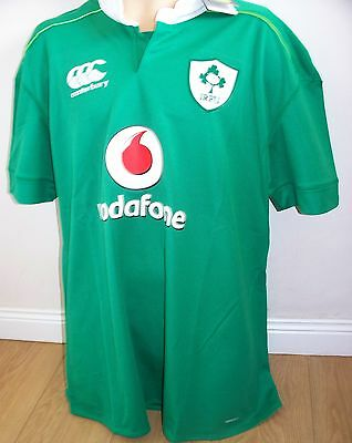 Ireland Rugby Shirt  - Green - Large - Brand New