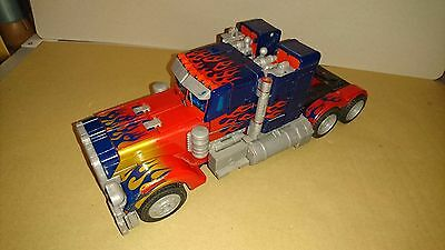 Optimus Prime Transformers Movie Incomplete Loose Electronic