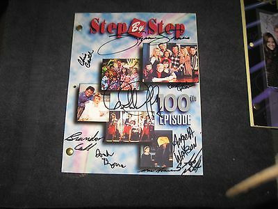 Step By Step Cast Signed 100 Episode Shooting Script Patrick Duffy Susan Somers