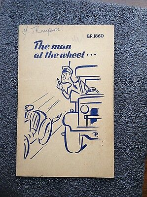 Admiralty Publication for Admiralty Drivers 1949 HMS Blackcap