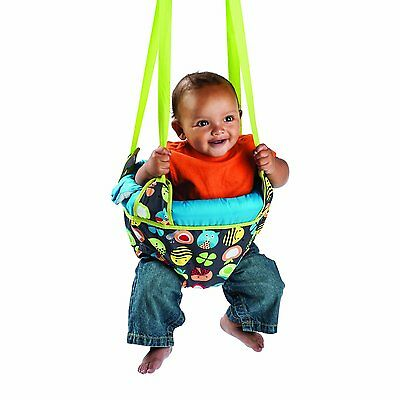 Evenflo ExerSaucer Bumbly Door Jumper NEW Johnny Jump Up Baby Bouncer Swing