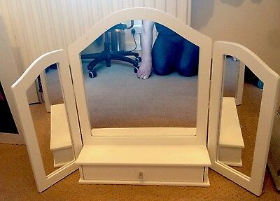 GLTC Children Desktop Dress Mirror With Drawer by Great Little Trading Company