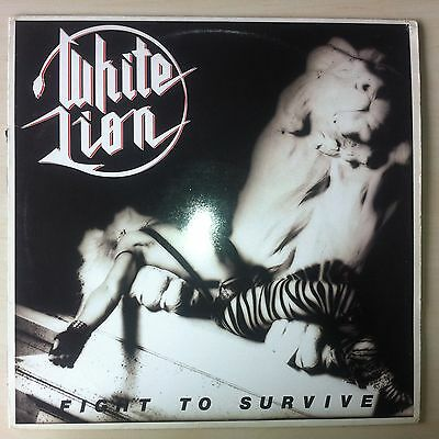 LP - White Lion - Fight to Survive