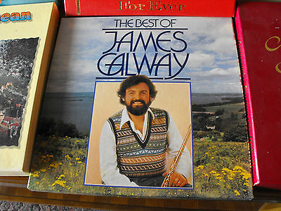 The Best Of James Galway 1982 UK Reader's Digest 4 X LP Vinyl Box Set Records