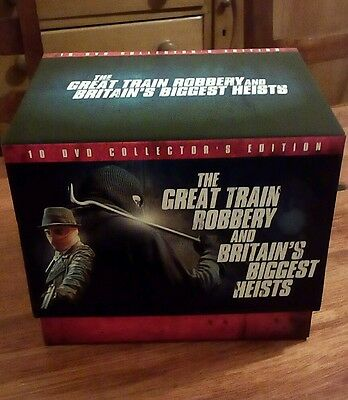 The great train robbery and britain's biggest heists boxset