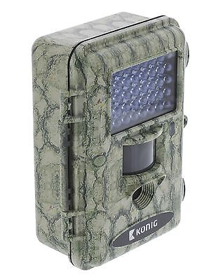 Camera Video Hd Surveillance Camouflage Nature Chasse Animaux A Vision Nocturne