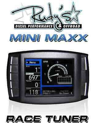 H&S Performance Mini Maxx DPF Delete Race Tuner Duramax Cummins Powerstroke