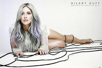 Hilary Duff Breathe In Breathe Out 2015 Promo Poster Brand New