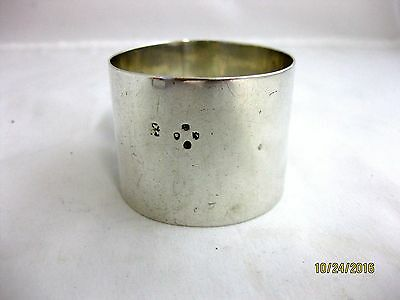 Antique Solid Silver VERY LARGE NAPKIN RING  Hallmarked  LONDON 1888