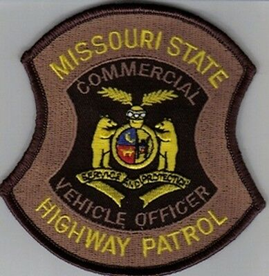 Missouri Highway Patrol Mhp Commercial Vehcile Officer  Bear Miss State Police