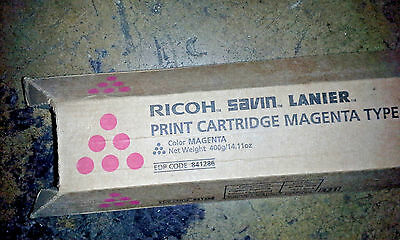Ricoh 841286 Magenta Toner MPC 5000, MPC 5501 17,000-Page lot of 7!!