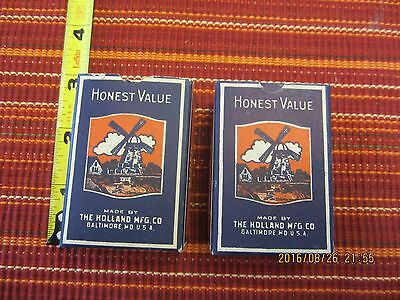 2   1/4 lb. boxes of vintage honest value no. 10 bill poster tacks