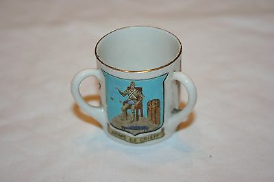 Goss Crested Ware  Tyg Crief Of Perthshire Crest