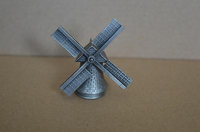 Pewter collectable thimble Windmill Turnable Sails TCC Collectors Club