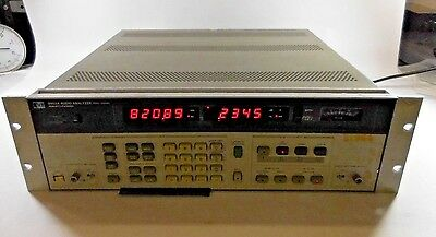 HP 8903A Audio Analyzer 20Hz - 100KHz W/ Option 001
