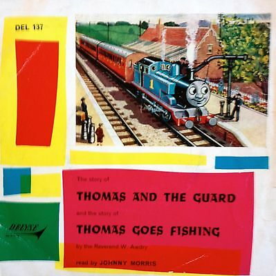 Thomas and the Guard 7 Inch Vinyl 1964 read by Johnny Morris DEL 137