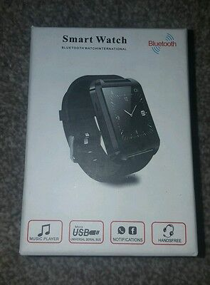 Bluetooth Smart Wrist Watch Phone Mate For Android& iOS iPhone Samsung HTC