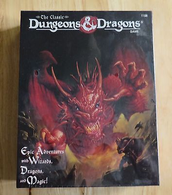 The Classic Dungeons and Dragons Board Game, 1994 Edition, No. 1106 Factory Seal