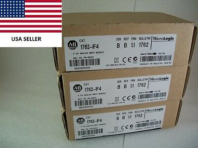*Ships Today* Allen Bradley 1762-IF4 Analog Input Card AB 1762-1F4 *2016*