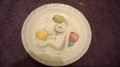 *Royal Doulton* The Snowman* 'Balloons' plate*