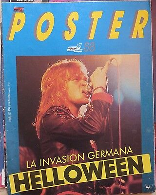 Poster: N.58- Helloween (Spanish Magazine) Popular 1