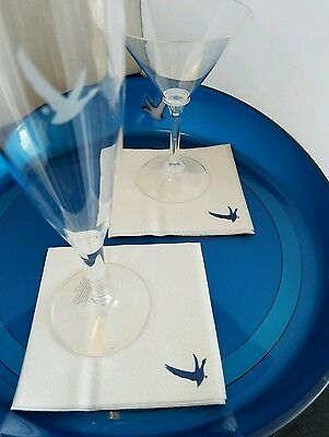 Grey Goose Collection branded Cocktail/Appetizer Heavy Weight Napkin 125ct