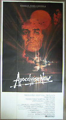 Apocalypse Now - original 3 sheet in one piece 41 x 81 inches