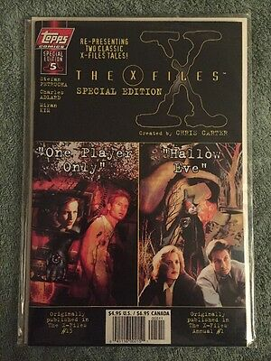 Topps Comics The X-files Special Edition #5 (2 Comics In One)