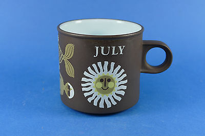 HORNSEA Pottery - JULY Mug - Mermaid - designed by John Clappison