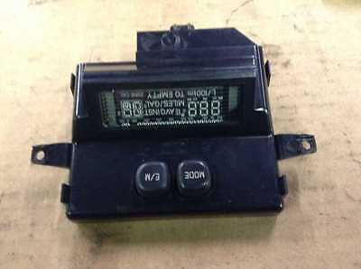 00 01 Ford Excursion Front Overhead Console Digital Message Information Display