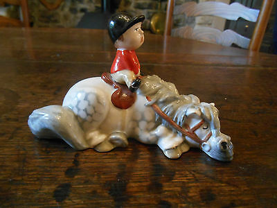 Beswick Norman Thelwell 1982 Kick Start.