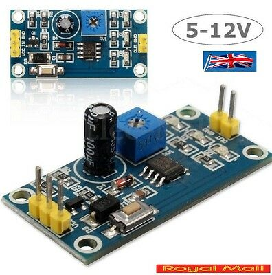 DC 5-12V Delay Relay Shield NE555 Timer Switch Module 0-150 Second Adjustable