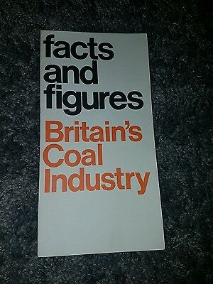 ncb facts and figures Britain's coal industry booklet pit miners memorabilia