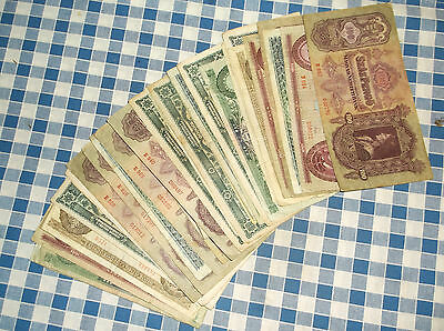 36 banknotes of Hungary - no reserve