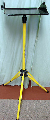 Artograph Mobile Projector Floor Stand Adjustable Height Yellow