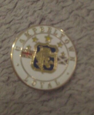 Rangers supporters club football badge Campbeltown