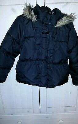 Girls M&S winter jacket size 5-6 years
