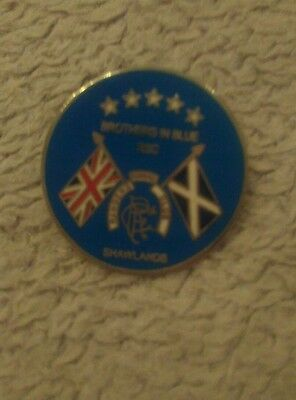 Rangers supporters club badge Shawlands